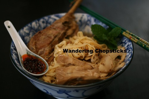 Mi Ga Tay Tiem (Vietnamese Egg Noodle Soup with Chinese 5-Spice Turkey) 1
