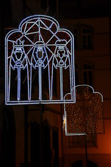 Christmas window (b16dyr) Tags: illuminations christmaslights madeira funchal 3wisemen