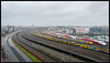 14-12-2013, Amsterdam, Look at all those trains..! (Koen langs de baan) Tags: