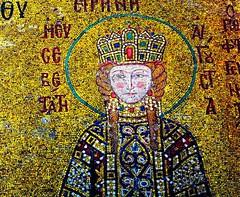 The Empress (Gastone Mappini) Tags: detail art turkey mosaic basilica mosaico istanbul gastone santasofia empressirene gastonemappini mappini