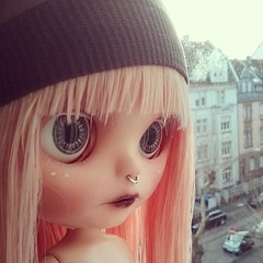 Good morning! (Sai / Rebecca) Tags: pink eyes doll factory pastel carving piercing blythe nosering ブライス tbl android app nostrils taobao nexus4 saience instagram
