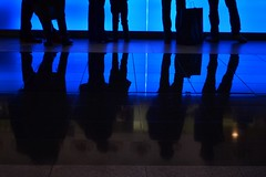 """New hamburgology"" (TheManWhoPlantedTrees) Tags: blue reflections h3 pavement braga granit notsofastfood nikond3100 tmwpt newhamburgology howmanyhamburgersdoesmcdonaldssellperday"