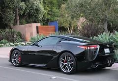 Lexus LFA (BurdmanPhotography) Tags: black beautiful canon angle famous engine exotic t3 expensive luxury rare supercar lfa