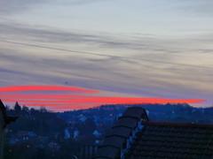 P1020453trav (pascalpiette) Tags: leica city red cloud sol clouds sunrise lumix soleil belgium belgique alba cities down du jour panasonic amanecer aurora wee hours raymond pascal towns huy octave heure lever bleue aurore aube piette dmcfz72 18012014