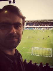EIGHTEEN (In my hands they crumble) Tags: london me oneaday football goal support january 18th pitch 365 18 ipswich theden eighteen selfie millwall 2014 awaygame southbermondsey uploaded:by=flickrmobile icedteafilter flickriosapp:filter=icedtea