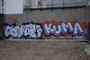 Tomek Kuma (lepublicnme) Tags: paris france graffiti january pal tomek kum 2012 kf palcrew