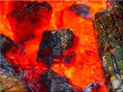 Fire (Ostseetroll) Tags: hot geotagged olympus feuer heiss e620 geotaggedfire geo:lat=5394937078 geo:lon=1003280704