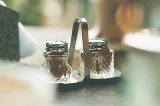 Pimienta y sal