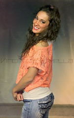 Greta D. (vince_enzo) Tags: hot cute sexy girl smile canon hair eos nice eyes sweet dancer sensual sguardo jeans booty 600d