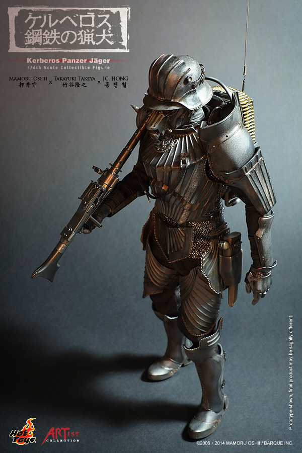 Hot Toys – AC02 《刻耳柏洛斯 - 地獄的獵犬》1/6比例 裝甲服