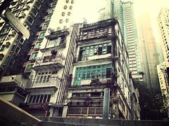 ruins (Anaxit) Tags: city buildings hongkong ruins central oldbuilding oldandnew sheungwan pld flickrandroidapp:filter=mammoth vision:text=0717 vision:outdoor=0849