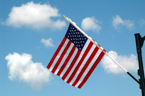 One of the many flags flying in Beech Gr by kennethkonica, on Flickr