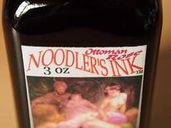 Noodler's Ottoman Rose - Close Up