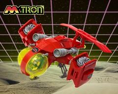 Neo-M:Tron VTOL (Blake Foster) Tags: classic ship lego space spaceship vtol moc afol mtron foitsop