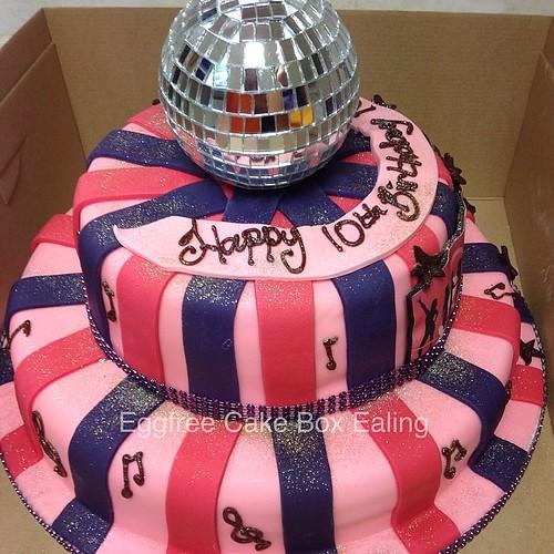 Disco a cake #cake #cakebox #novelty #vegetarian #cakeboxealing #freshcream # & Flickriver: Photos from Cake Box Ealing Aboutintivar.Com
