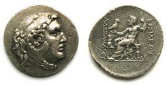 "Alexander III ""Great"" tetradrachm (mr.Medici) Tags: silver ar hellenistic alexanderiii tetradrachm"