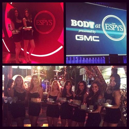 BODY @ ESPYS #events #eventlife #eventeleven #staffing #servers #cocktail #greygoose #drinks #espysbody #espys #espn #athletes #models #hollywood #thefoodmatters #200proofla #200proof