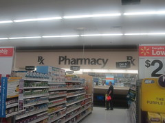 Pharmacy Sign Like No Other (at Walmart) (Random Retail) Tags: ny sign retail store supermarket walmart pharmacy jamestown 2014 supercenter projectimpact