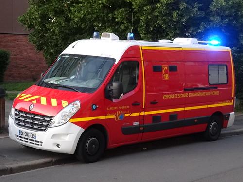 Longwy: Renault Master Ambulance