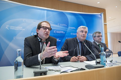 Alexander Dobrindt responses to questions with Frédéric Cuvillier and José Viegas