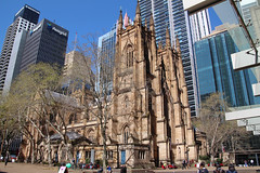 Sydney St Andrews Cathedral (NTG's pictures) Tags: hyde park botanical gardens the tower eye sydney nsw australia cbd st andrews cathedral