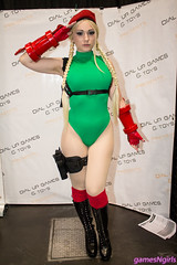 Cammy White cosplay (The Doppelganger) Tags: cammy cammywhite cosplay cosplayer streetfighter capcom boots newyorkcomiccon nycc nycc2016