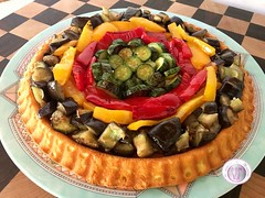 Ricetta crostata morbida salata all'ortolana (RicetteItalia) Tags: ricette crostata morbida torte salate