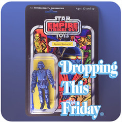 This Friday!  Get ready. (skipthefrogman) Tags: skipbro custom cast bootleg art toy action figure