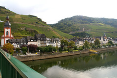 Zell, Aussicht von der Moselbrcke (HEN-Magonza) Tags: zell mosel moselle rheinlandpfalz rhinelandpalatinate deutschland germany
