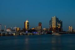 Hamburg - Elbphilharmonie at Dusk (superbart77) Tags: dusk elbe elbphilharmonie hafen hafencity hamburg harbour river sunset