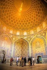 Lotfollah_Mosque (davidmitchell.photography) Tags: iran mosque dome gold travel awe isfahan