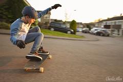 SUNSET SESSION (charlieallen.77) Tags: skate skateboarding urban longboard longboarding sport action summer sun sunset colour