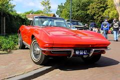 1966 Chevrolet Corvette Stingray Convertible (Dirk A.) Tags: sidecode1 importkenteken ar5047 1966 chevrolet corvette stingray convertible