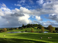 King John's Hill (Marc Sayce) Tags: mini rainbow east worldham king johns hill hampshire south downs national park hangers way autumn 2016 clouds