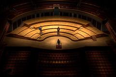 A Photogrpahers Performance (Slimdaz) Tags: elliot birmingham pentax stalls symphonyhall k3ii cbso darrensmithimages darrensmith pentaxlens seats stage performance