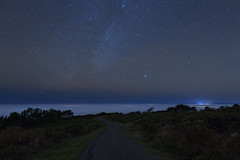 Fog over the Pacific Ocean (fksr) Tags: pacificocean fog night sky milkyway stars deneb vega mountvisionroad pointreyesnationalseashore marincounty california landscape astrometrydotnet:id=nova1798952 astrometrydotnet:status=failed
