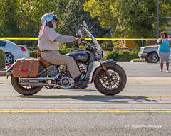 Indian Scout (augphoto) Tags: augphotoimagery indian scout motorcycle parade greenwood southcarolina unitedstates