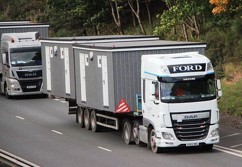 DAF XF Euro 6 - FORD Wem Shropshire