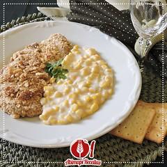 Frango Crocante com Creme de Milho (Almanaque Culinrio) Tags: receita food recipe comida culinria gastronomia