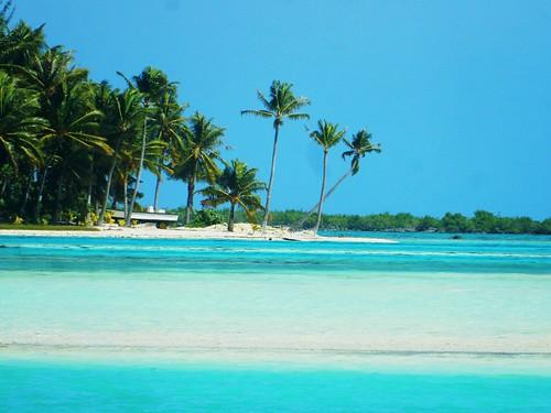 Motu in Bora Bora - French Polynesia