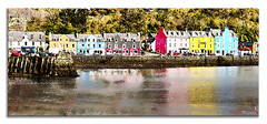 Tobermory paint (The Terry Eve Archive) Tags: tobermory mull scotland westcoast island port colour waterfront