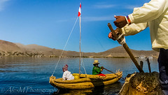 The Lake Dwellers (The Happy Traveller) Tags: peru andes lake titicaca urupeople southamerica