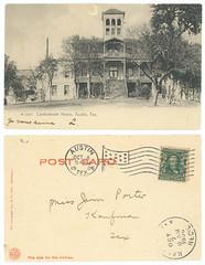 Confederate Home, Austin, Tex. (SMU Central University Libraries) Tags: confederatestatesofamerica americancivilwar dwellings mansions unitedstates