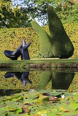 "Chatsworth ""Beyond Limits"" 2016 (zeity121) Tags: chatsworth chatsworthhouse exhibition sothebys beyondlimits sculptures 2016 peak peakdistrict thepeak nationalpark wendellcastle trees garden green"
