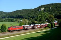 151 075 Breitenfurt (4697) (christophschneider1) Tags: kbs990 breitenfurt altmhltal oberbayern dbcargo 151 151075 autotransport neuwagentransport ganzzug ga52680