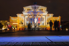 Konzerthaus Berlin (DOKTOR WAUMIAU) Tags: d7200 ishootraw nikon berlin festivaloflights lightroom night nightphotography tokina1116 ultrawide vscofilm wideangle longexposure