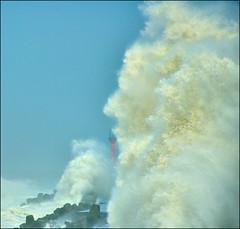 F_DSC1178-1-Nikon D800E-Nikkor 28-300mm-May Lee  (May-margy) Tags: maymargy haimatyphoon   waves  lighthouse  shoreline   seascape    taiwan repofchina fdsc11781 stormysea linesformandlightandshadows  motion kaohsiungcity nikond800e nikkor28300mm maylee