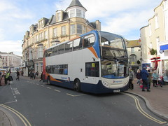 19572, Teignmouth, 25/11/16 (aecregent) Tags: teignmouth 251116 stagecoachsouthwest enviro400 19572 wa59fwu 22