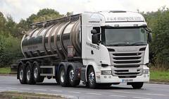 SCANIA R490 - P & S SIMPSON LTD Lincoln (scotrailm 63A) Tags: lorries trucks tankers