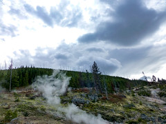 Yellowstone and clouds (plethora4834) Tags: yellowstonenationalpark yellowstone wyoming wy nature clouds sky